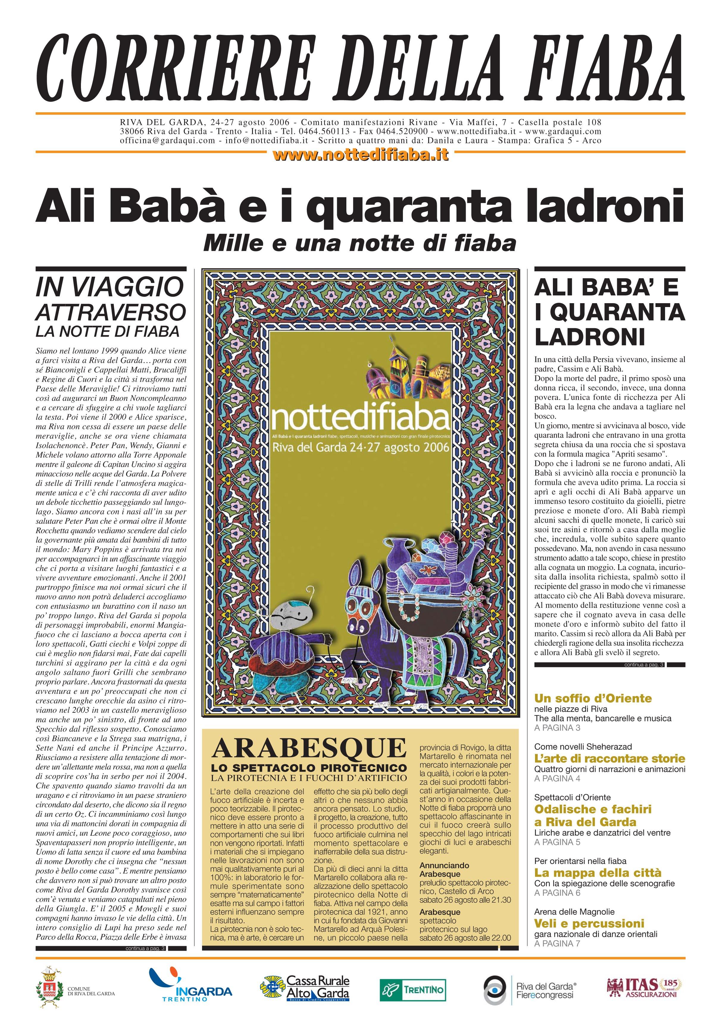 Corriere della fiaba 2006