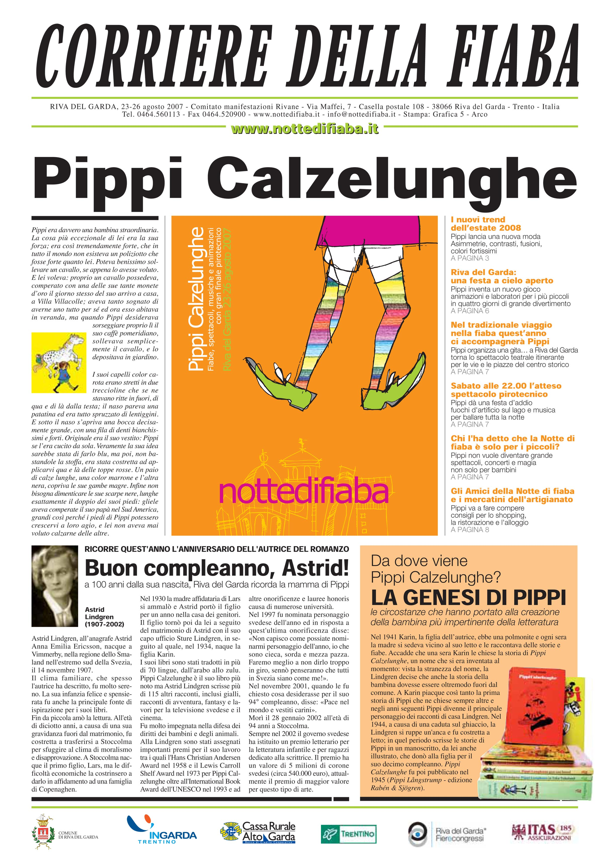 Corriere della fiaba 2007