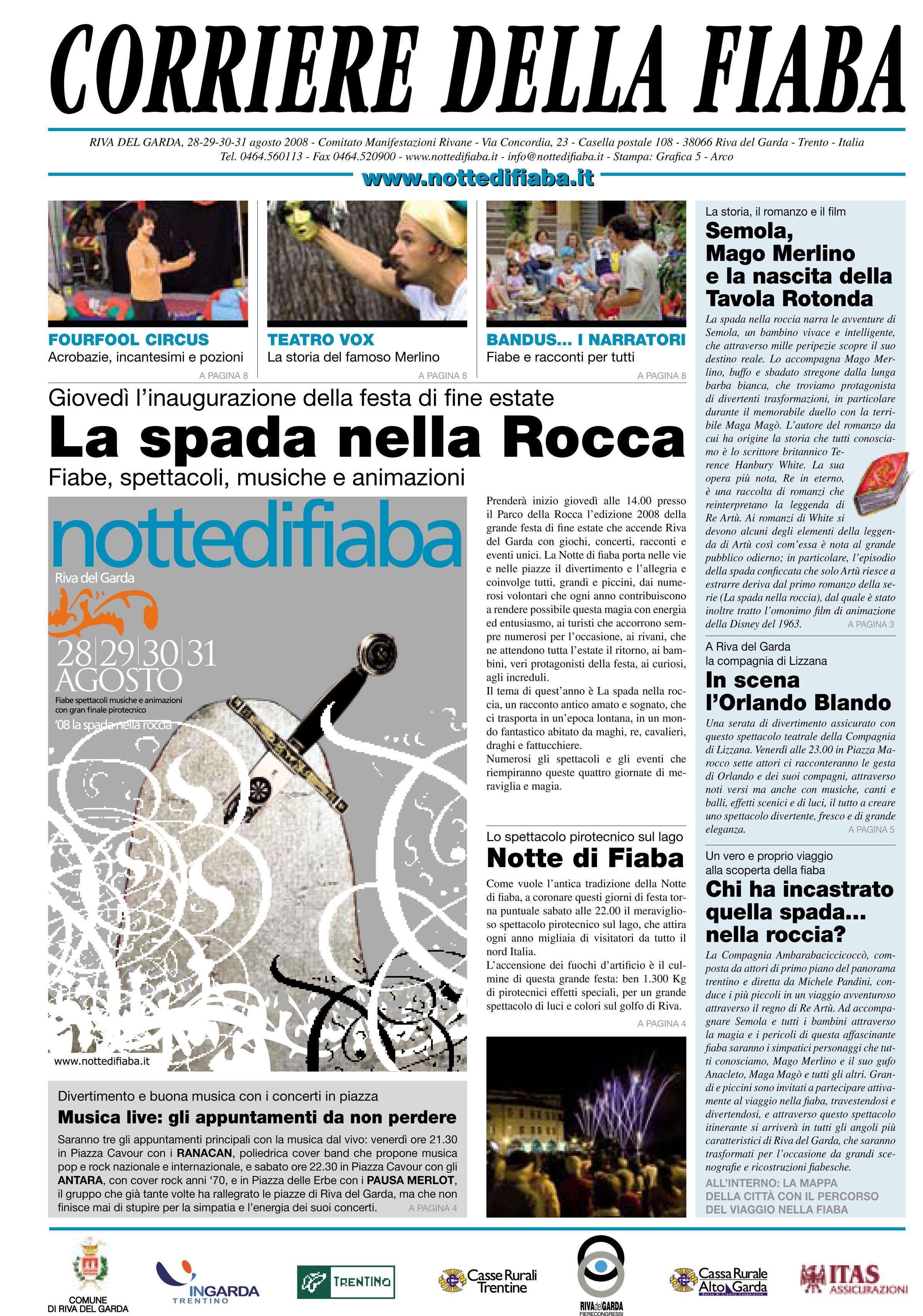 Corriere della fiaba 2008