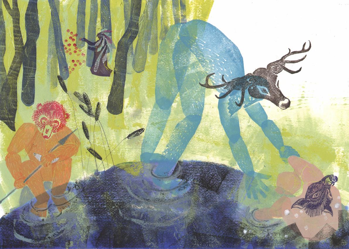 Tavola di Cathy Benetti per il concorso di illustrazione Notte di Fiaba