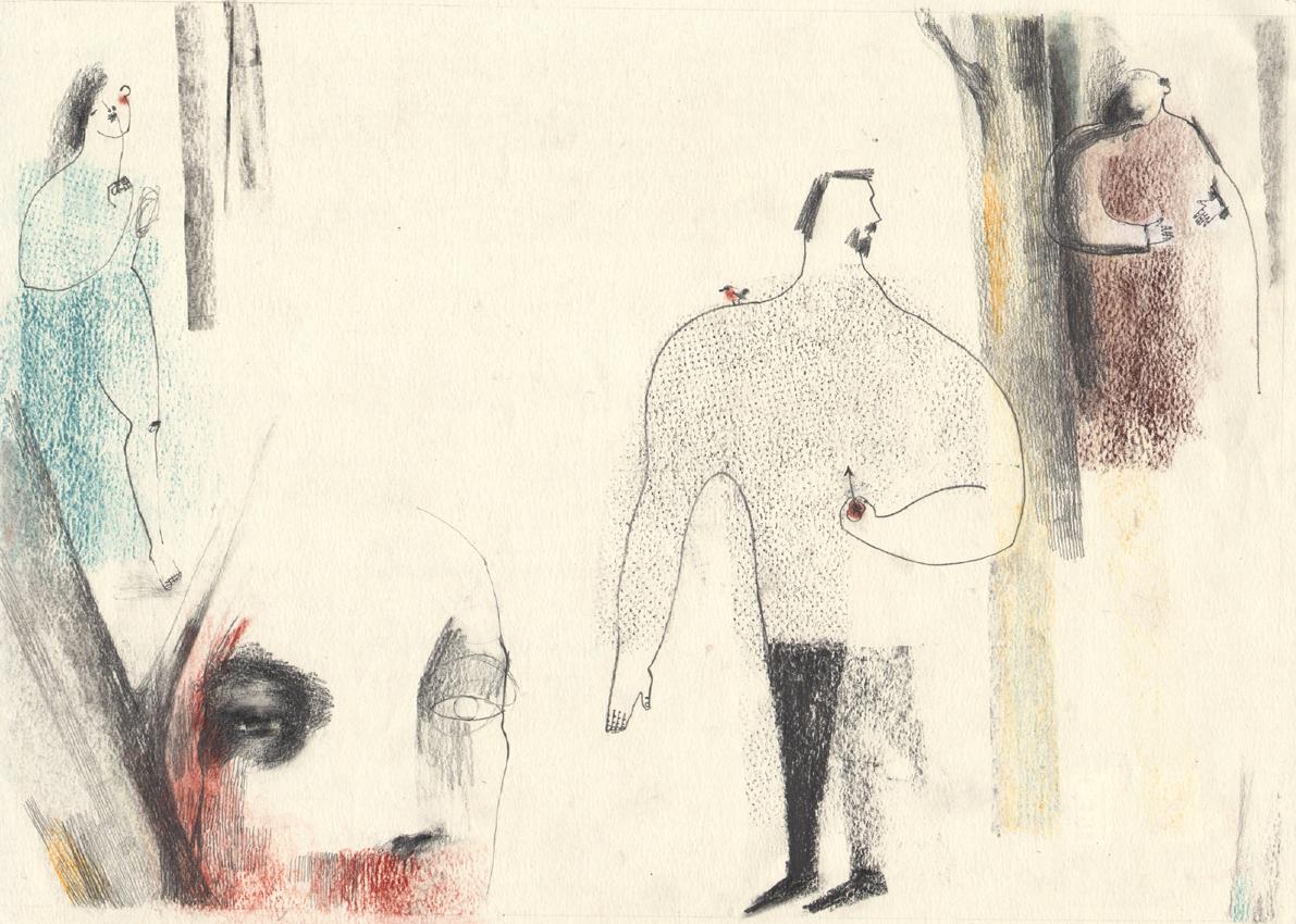 Tavola di Marta Roverato per il concorso di illustrazione Notte di Fiaba
