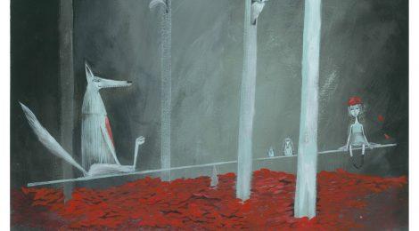 """Mostra di illustrazione """"La vera storia di Cappuccetto Rosso"""""""